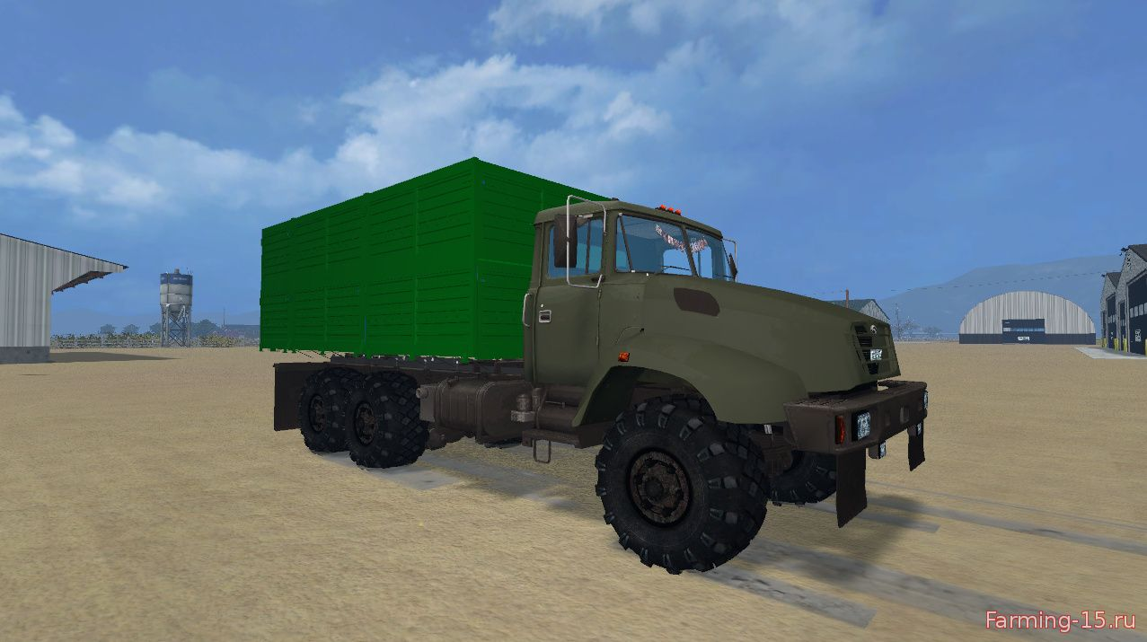 Русская техника для Мод грузовик КрАЗ V18 для Farming Simulator 2015