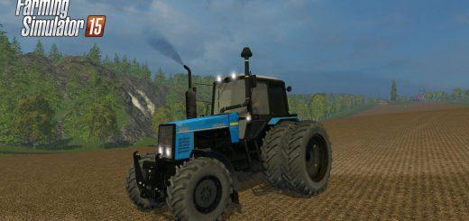Русская техника для Мод трактор МТЗ 1221 Forest Edition для Farming Simulator 2015