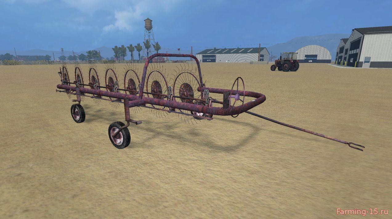 С/Х инвентарь для Мод сеноворошилка Agromet Z211 для Farming Simulator 2015