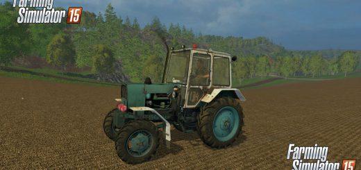 Русская техника для Мод трактор ЮМЗ 6КЛ 4Х4 для Farming Simulator 2015