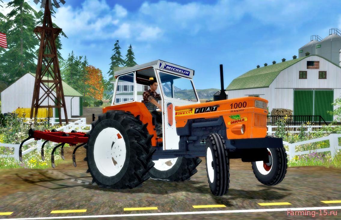 Тракторы для Мод трактор FIAT 1000 v1.0 для Farming Simulator 2015
