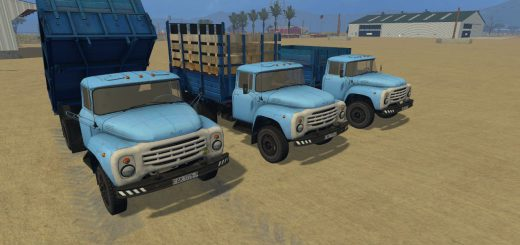 Русская техника для Мод грузовик-самосвал Зил 130 для Farming Simulator 2015