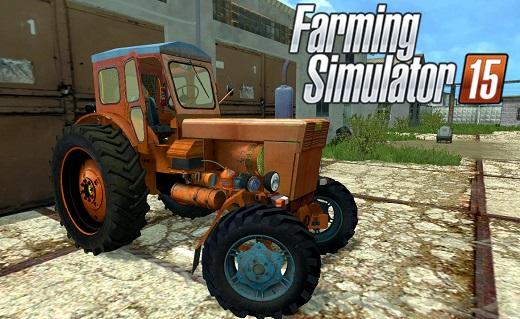 Русская техника для Мод трактор ЛТЗ T 40AM для Farming Simulator 2015
