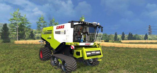 Комбайны для Мод комбайн Claas Lexion 780 Century Edition v2.0 для Farming Simulator 2015