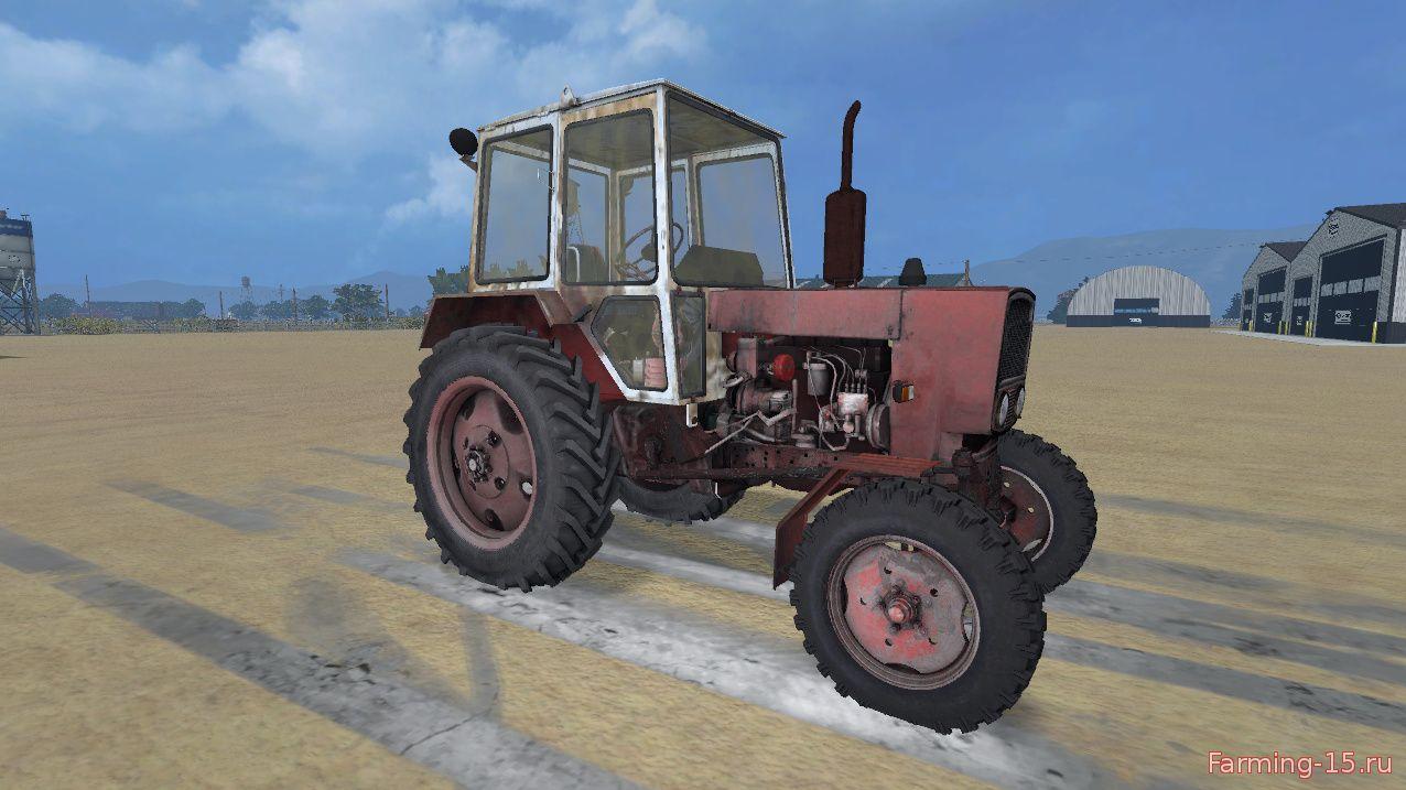 Русская техника для Мод трактор ЮМЗ-6КМ для Farming Simulator 2015