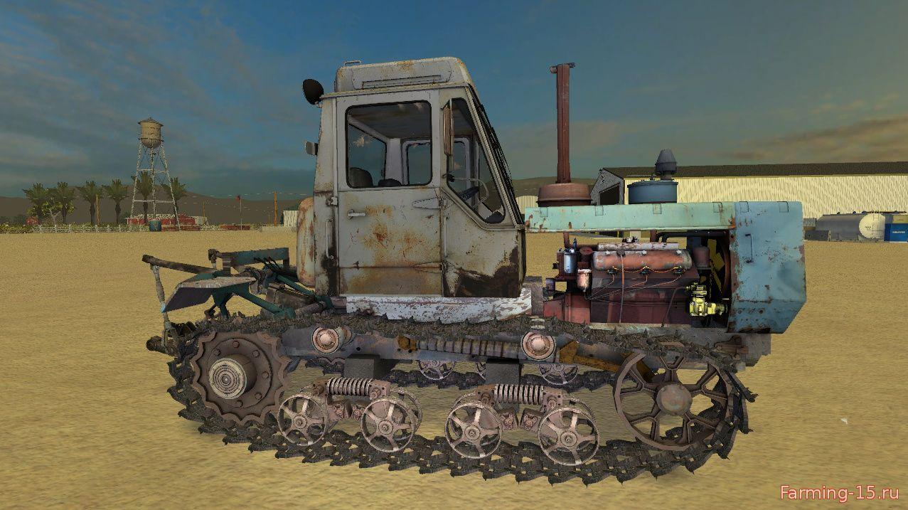 Русская техника для Мод гусеничный трактор ХТЗ T-150 для Farming Simulator 2015