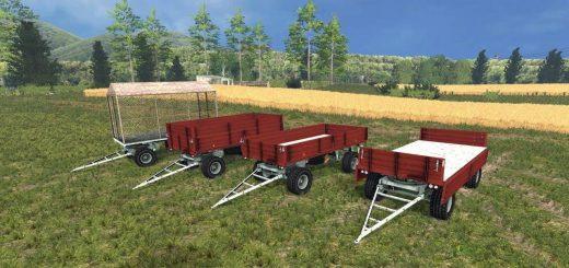 Прицепы для Мод-пак прицепов CSMC BSS 8T v1.0 для Farming Simulator 2015