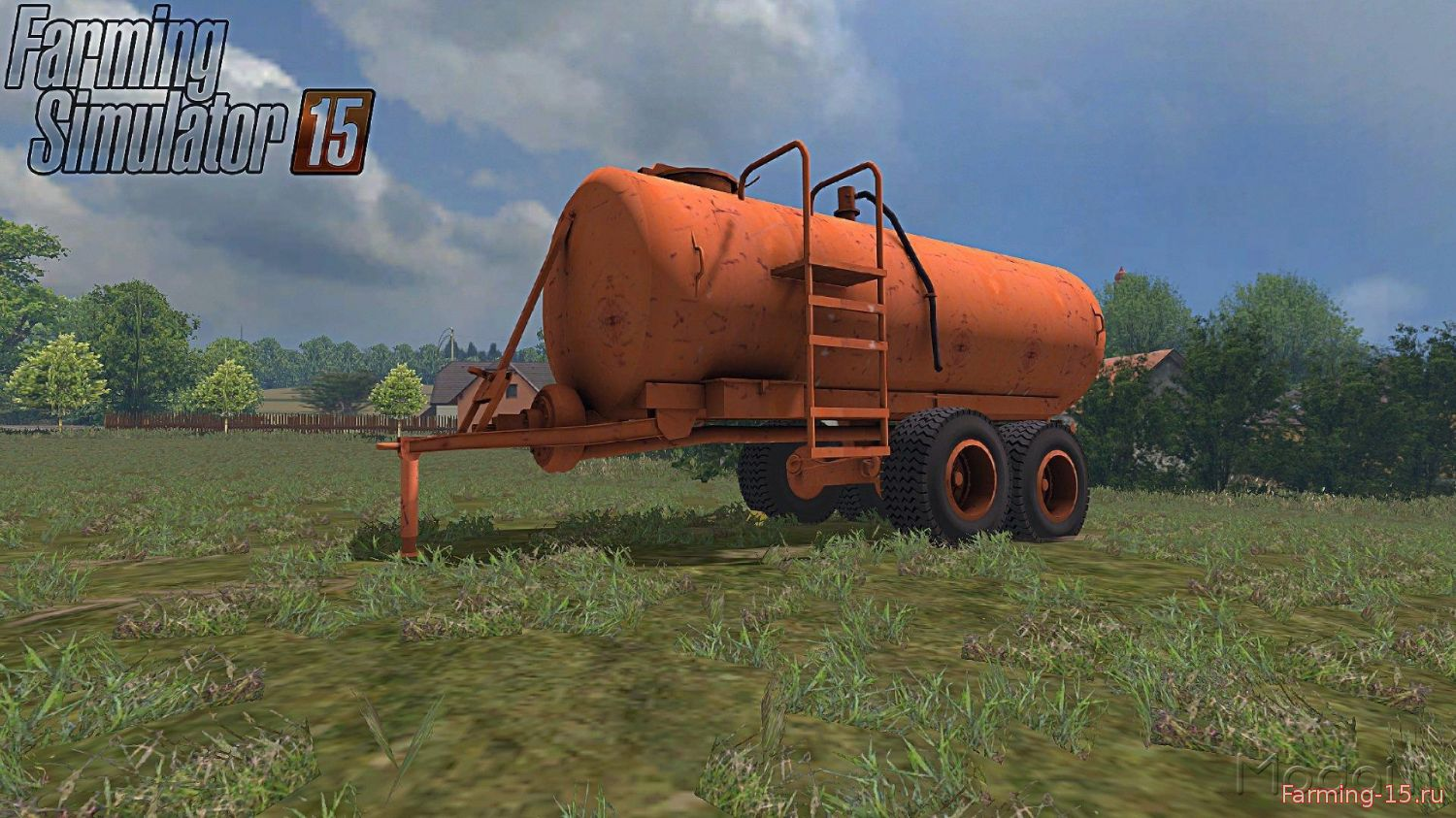 Цистерны для Мод цистерна МЗТ-10 V1.0 для Farming Simulator 2015