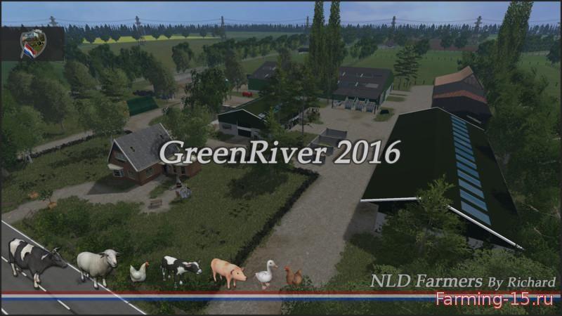 Карты для Карта Green River 2016 v 2.1 для Farming Simulator 2015