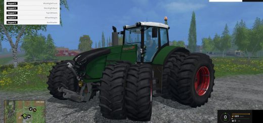 Тракторы для Мод трактор Fendt 1050 Vario Grip FL для Farming Simulator 2015