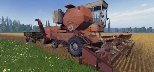 Русская техника для Мод-пак комбайн Енисей-1200, Пун и Копнитель для Farming Simulator 2015