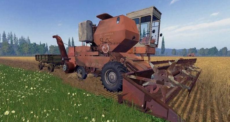 Русская техника для Мод-пак комбайн Енисей-1200, Пун и Копнитель для Farming Simulator 2015