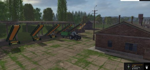Другие моды для Мод Хранилища для карты Сосновки v1.0 для Farming Simulator 2015