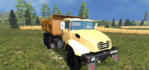 Русская техника для Мод грузовик КрАЗ 18б для Farming Simulator 2015