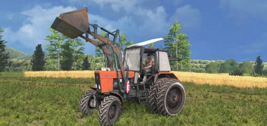 Русская техника для Мод трактор МТЗ 82.1 ПКУ By Sevill для Farming Simulator 2015
