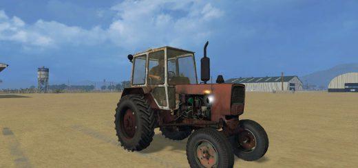 Русская техника для Мод трактор ЮМЗ-6КЛ Финал для Farming Simulator 2015