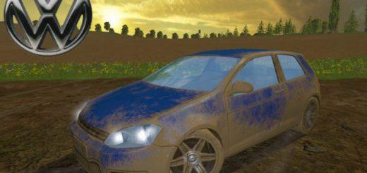Машины для Мод машина VW Golf R36 HGP для Farming Simulator 2015
