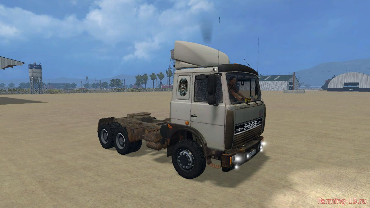 Русская техника для Мод грузовик MAЗ 5432 для Farming Simulator 2015