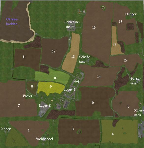 Карты для Карта Rothenkirchen v1.0 для Farming Simulator 2015