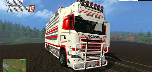 Грузовики для Мод грузовик SCANIA R730 для Farming Simulator 2015