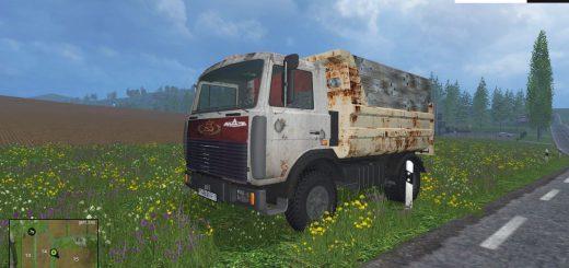 Русская техника для Мод грузовик Маз 5551 для Фермер Симулятора 2015