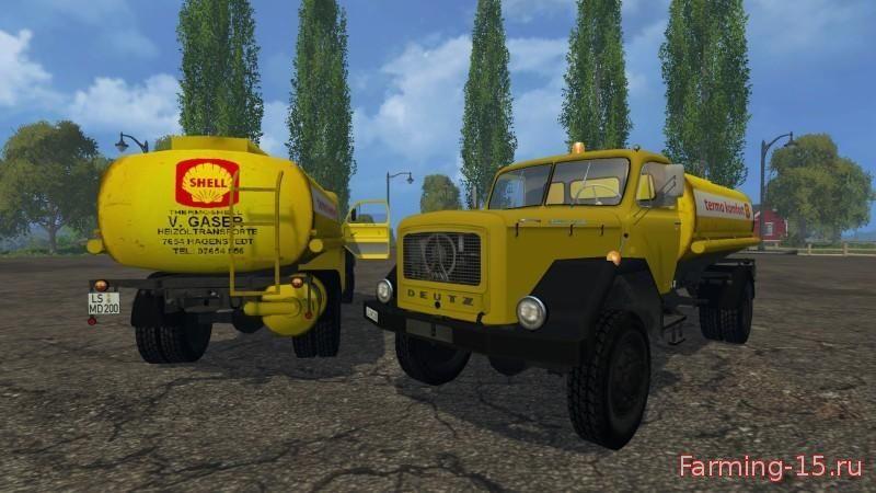 Русская техника для Мод три автоцистерны для Farming Simulator 2015