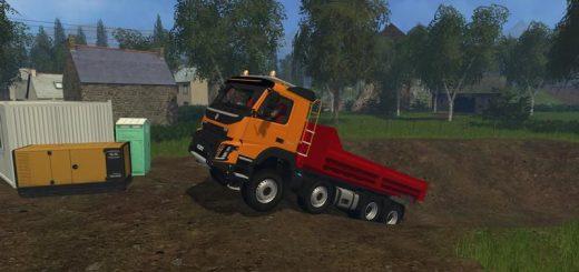 Грузовики для Мод-пак грузовиков Volvo FMX ampliroll для Farming Simulator 2015