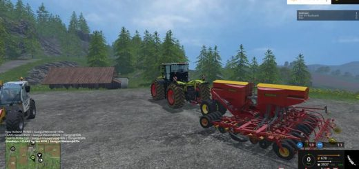 С/Х инвентарь для Мега – пак сельхоз хозяйственного инвентаря для Farming Simulator 2015