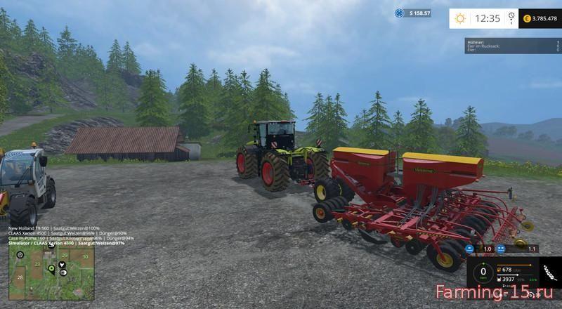 С/Х инвентарь для Мега – пак сельхоз хозяйственного инвентаря для Farming Simulator 2015