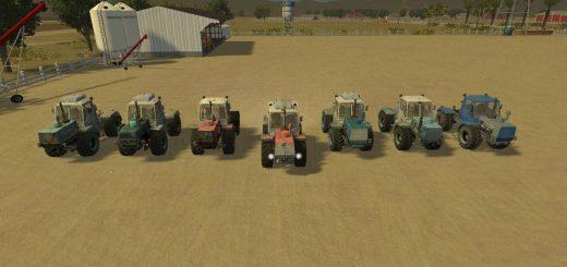 Русская техника для Мод-пак траторов Т-150К для Farming Simulator 2015