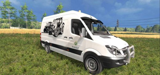 Машины для Мод Mercedes Sprinter Сервис для Farming Simulator 2015