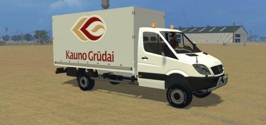 Грузовики для Мод грузовик Mercedes Sprinter 313 CDI Pritsche для Farming Simulator 2015