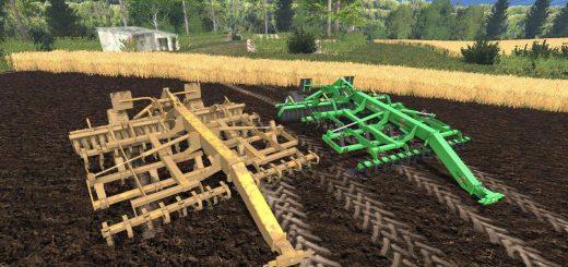 С/Х инвентарь для Мод-пак культиваторов для Farming Simulator 2015