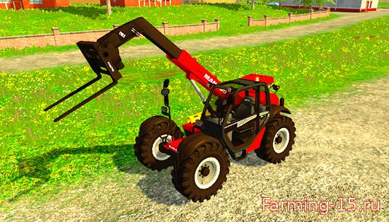 Погрузчики для Мод погрузчик Mantiou MLT 845 для Farming Simulator 2015