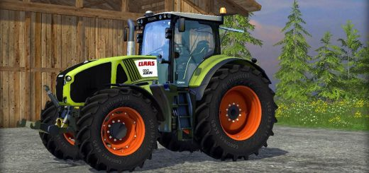 Тракторы для Мод трактор Claas Axion 950 v4.0 для Farming Simulator 2015
