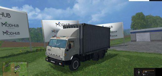 Русская техника для Мод грузовик КамАЗ 53212 v3.0 для Farming Simulator 2015