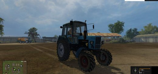 Русская техника для Мод трактор МТЗ 82 v6.0 для Farming Simulator 2015