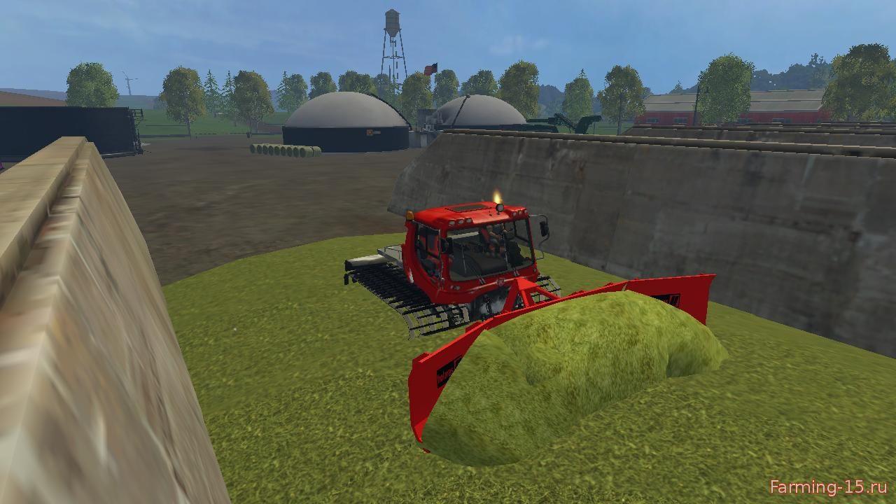 Машины для Мод гусеничный вездеход-Pistenbully 400 для Farming Simulator 2015