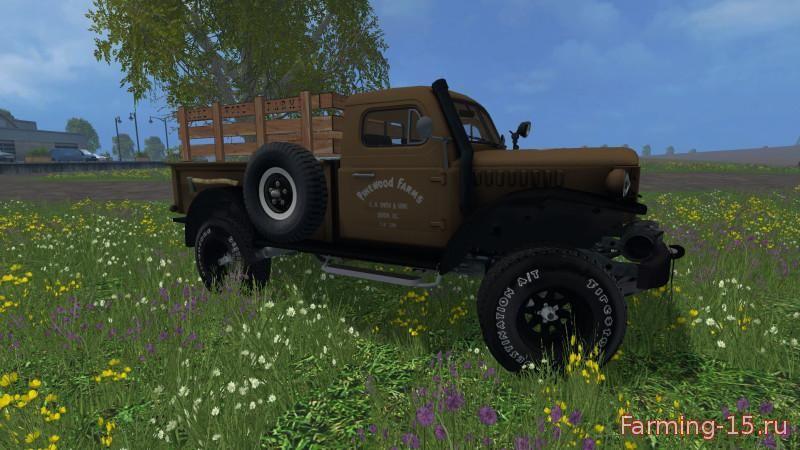 Грузовики для Мод грузовик Dodge Powerwagon для Farming Simulator 2015