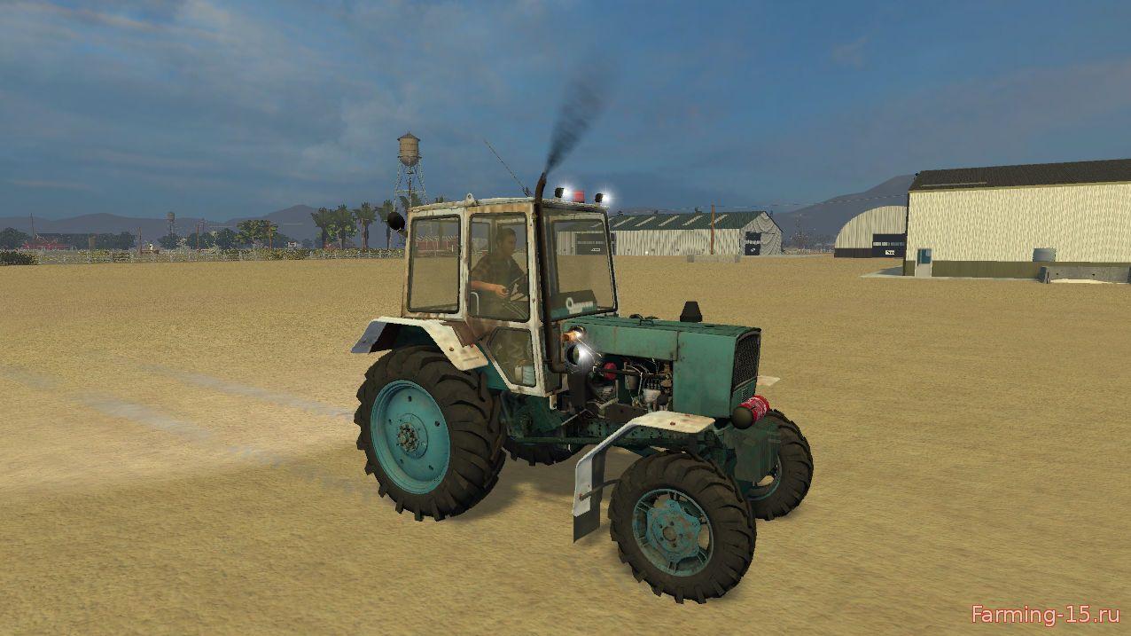 Русская техника для Мод трактор ЮМЗ 6КЛ 4x4 Турбо 1.2 для Farming Simulator 2015