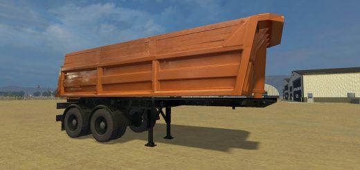 Прицепы для Мод прицеп-самосвал СЗАП-9517 для Farming Simulator 2015
