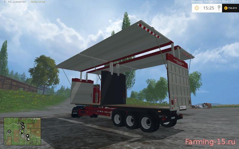 Прицепы для Мод прицеп для щепы для Farming Simulator 2015
