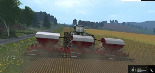 С/Х инвентарь для Мод навесная сеялка «Poettinger Aerosem 10500» для Farming Simulator 2015