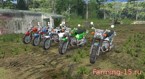 Русская техника для Мод мотоцикл Восход 3М для Farming Simulator 2015