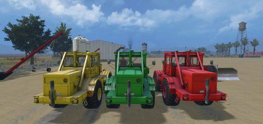 Русская техника для Мод трактор К700А и Отвал для Farming Simulator 2015