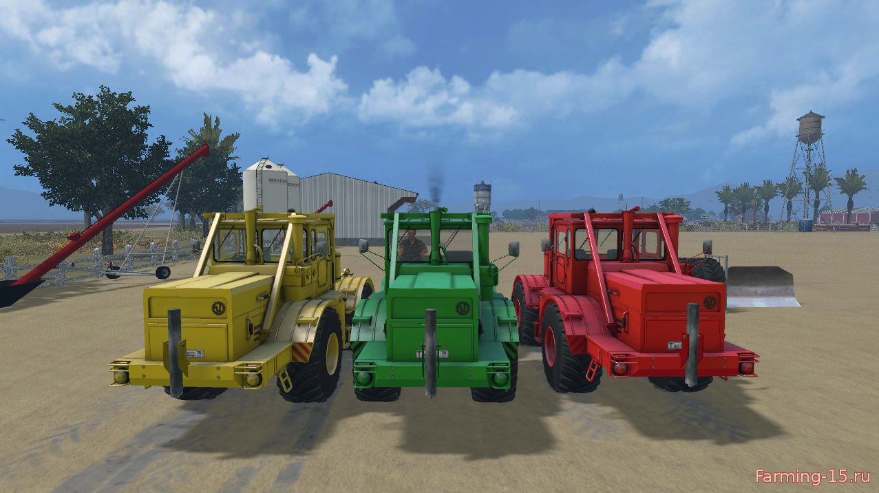 Русская техника для Мод трактор К700А и Отвал для Farming Simulator 2015