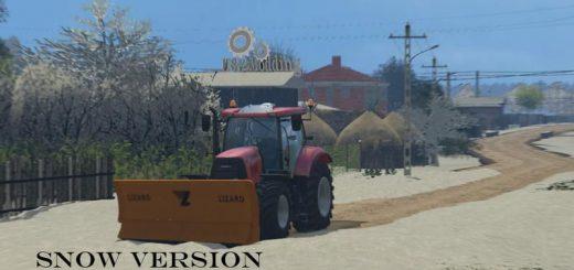 Карты для Зимняя карта «Dumesti» для Farming Simulator 2015
