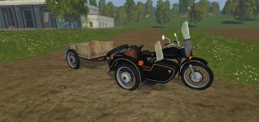 Русская техника для Мод-пак мотоцикл УРАЛ М-67 36 для Farming Simulator 2015