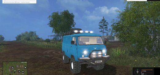 Русская техника для Мод машина Уаз 452 для Farming Simulator 2015