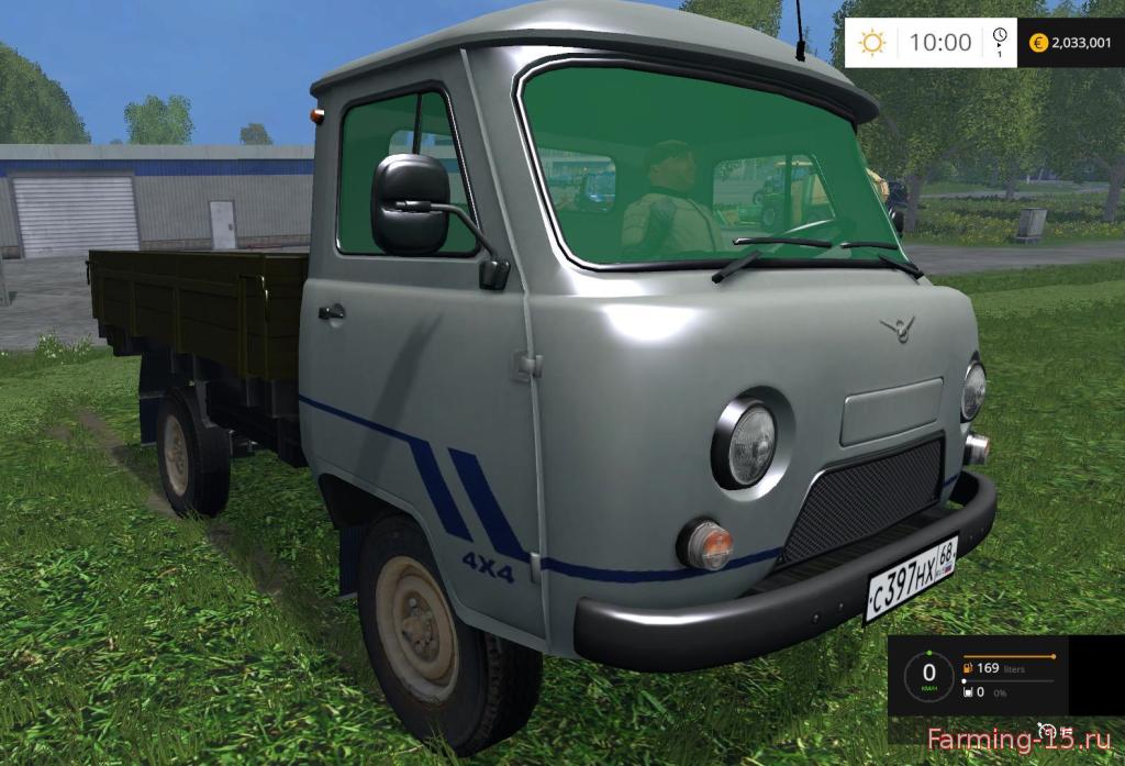 Русская техника для Скачать мод УАЗ 451 для Farming Simulator 2015